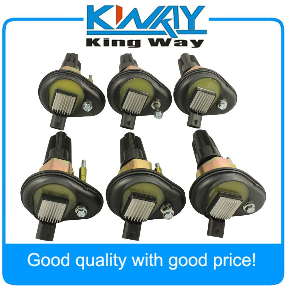 New Ignition Coil Set of 6 Fit For Chevy Trailblazer GMC