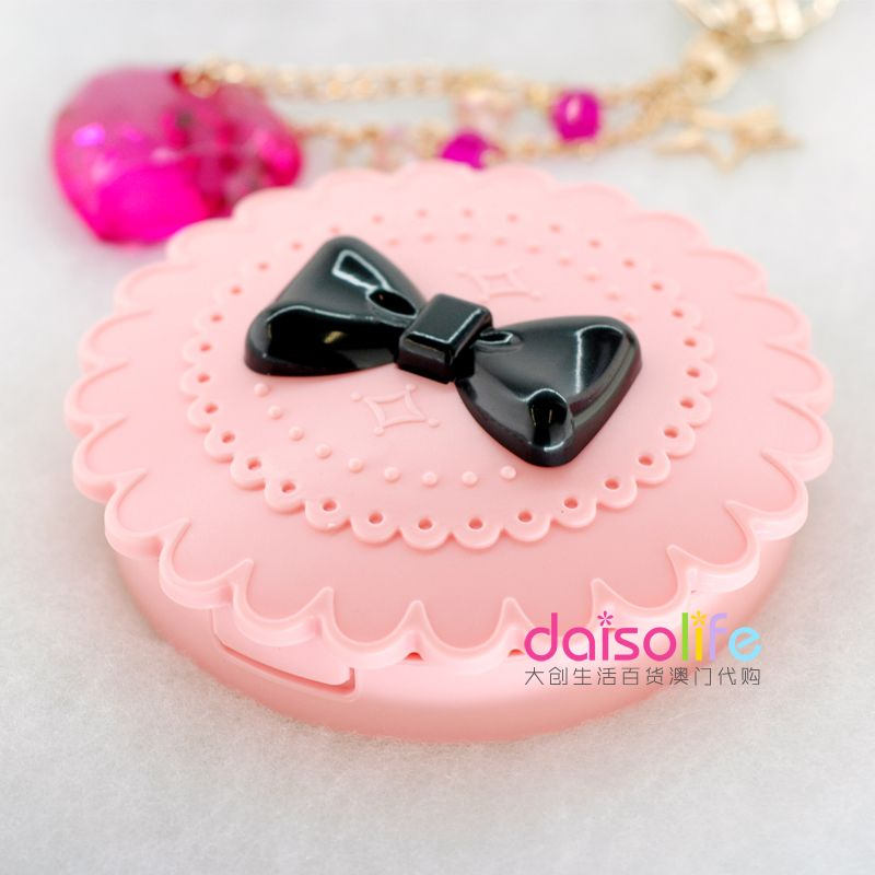 Daiso Daiso Eyelashes Case Kawaii Princess Lace Bow Shape Feel Super