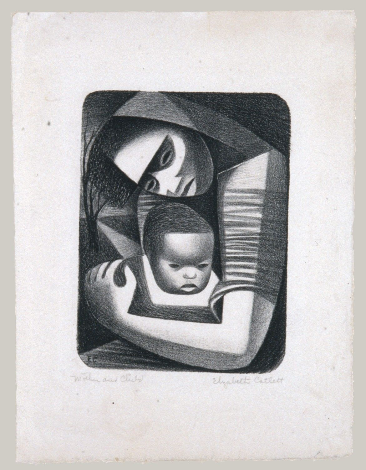 Artist elizabeth catlett american and mexican