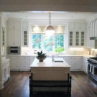 Phoebe Howard Kitchens Floor To Ceiling White Kitchen Cabinets White Kitchen Island Sink In Ki With Images U Shaped Kitchen Kitchen Design Home Kitchens