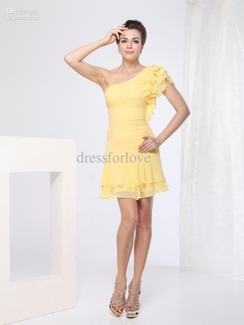 Pale Yellow Bridesmaid Dresses | Top 50 Yellow Bridesmaid Dresses ...