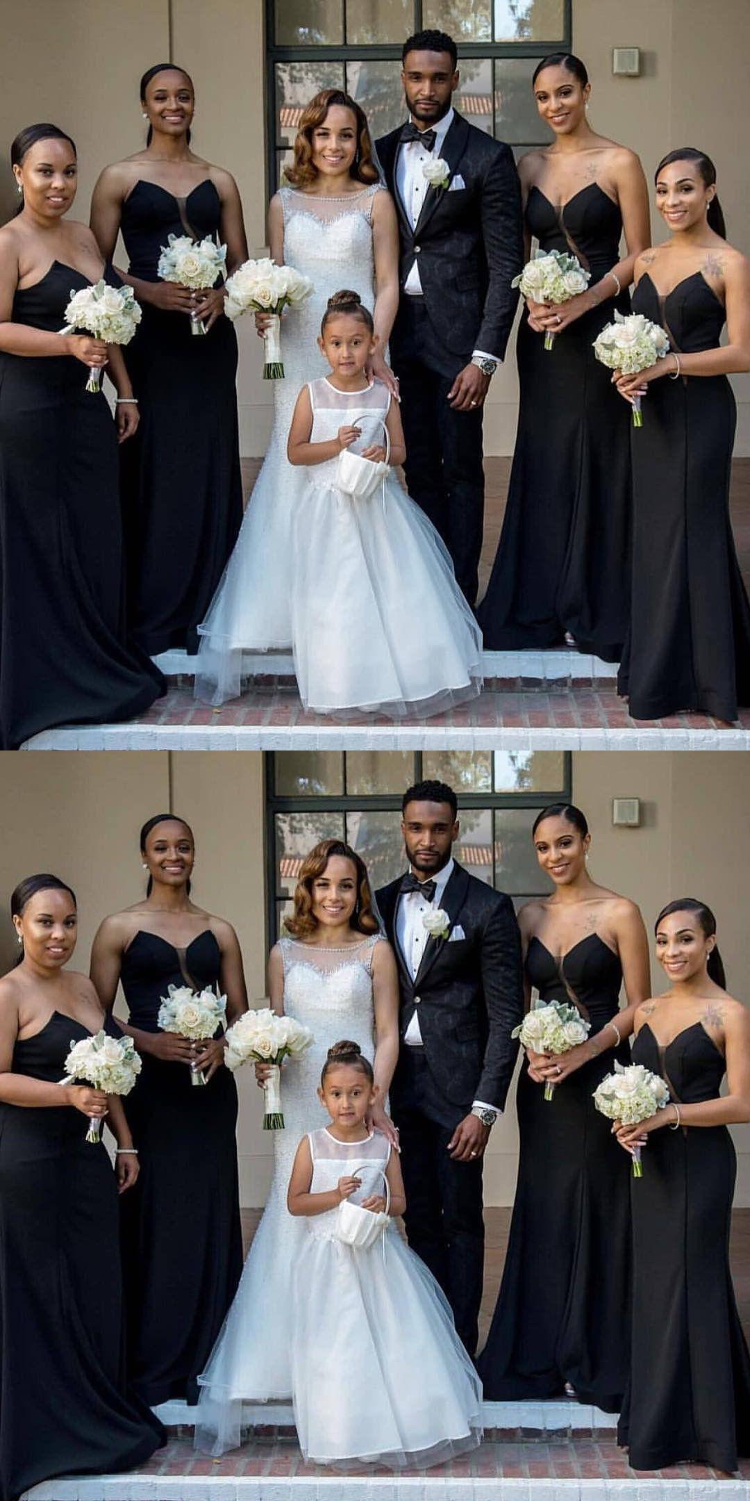 Mermaid black bridesmaid dresses elegant sweetheart wedding party mermaid black bridesmaid dresses elegant sweetheart wedding party gowns ombrellifo Choice Image