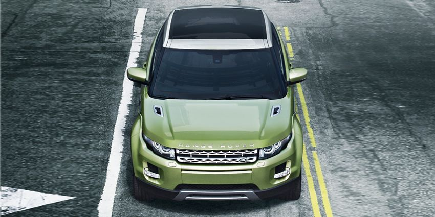 The new Range Rover Evoque, where you can do the mix and