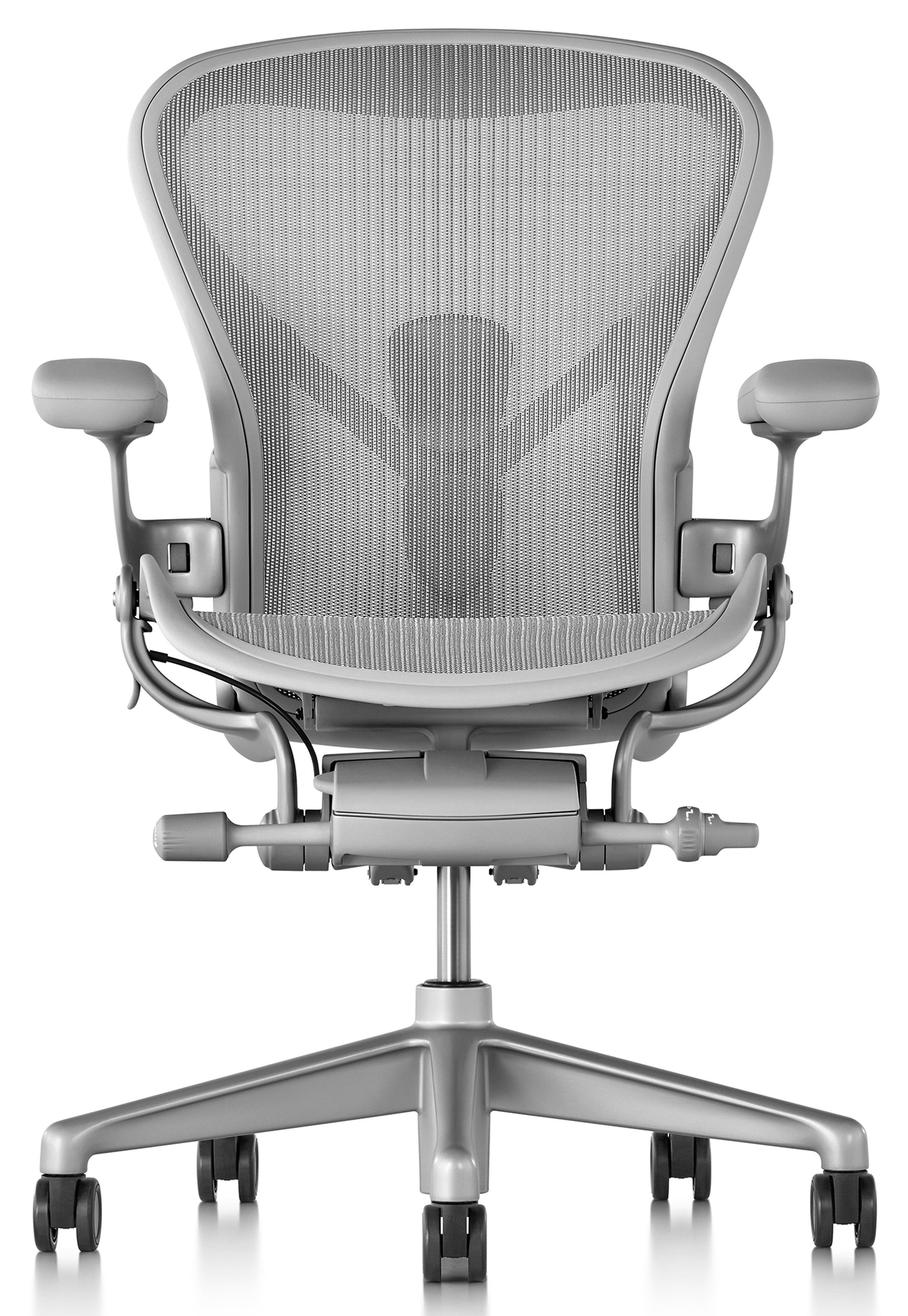 Herman Miller updates iconic Aeron office chair  sc 1 st  Pinterest & Herman Miller updates iconic Aeron office chair ...