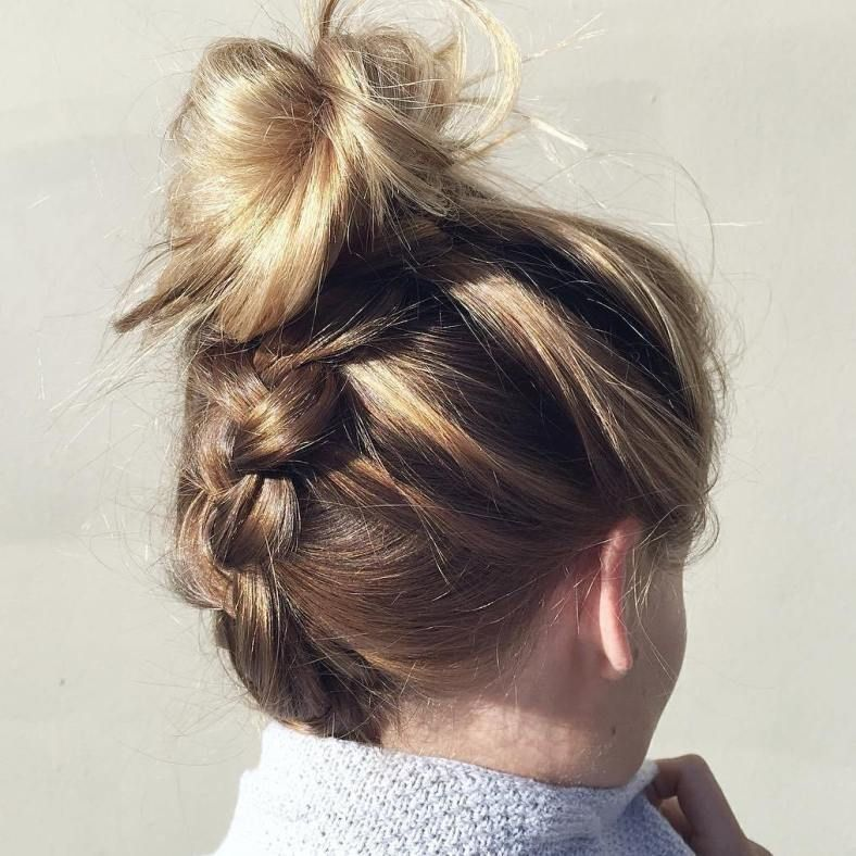40 Chic Messy Updos for Long Hair #messybraids