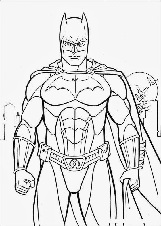 Printable Batman Costume Arkham City Coloring In Sheet