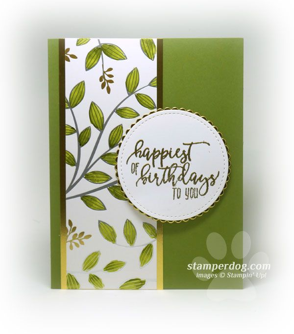 Easy and Elegant Birthday Card cards  embelishments / rubber