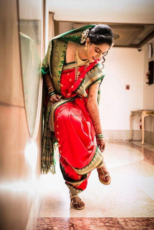 Photo of 20+ Most Beautiful Nauvari Sarees On Maharashtrian Brides!