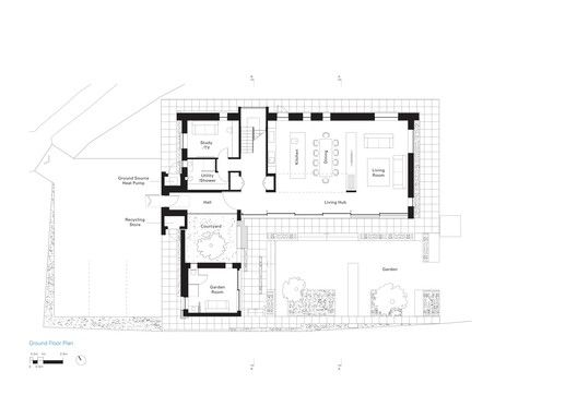 House 19 Jestico Whiles Floor Plans Ground Floor Plan House