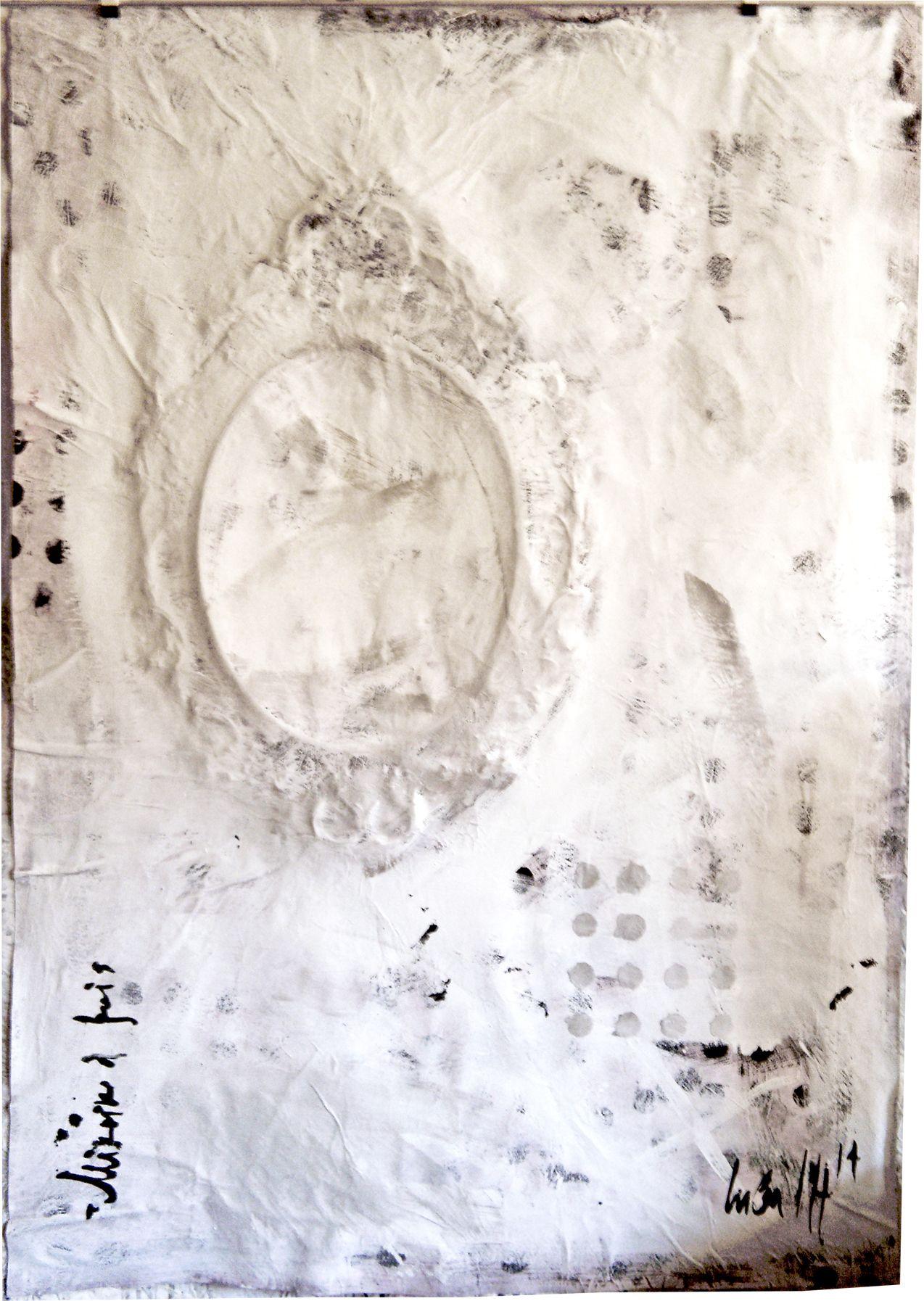 Acrylique/papier 150/120  STRASBOURG 2014
