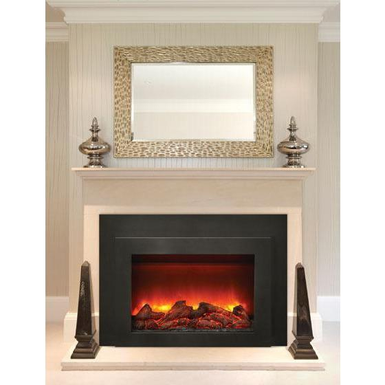 Flash Sale Sierra Flame Insert With Dual Steel Surround Electric