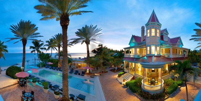 Key West Fl The Southernmost House Oceanfront Bed Breakfast