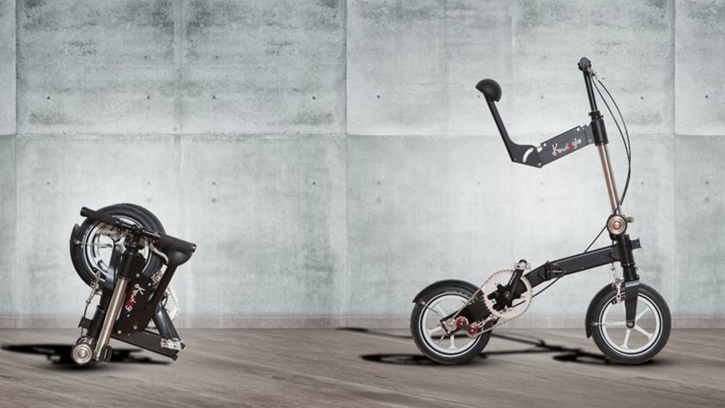 Kwiggle The Most Compact Bicycle In The World Project Video