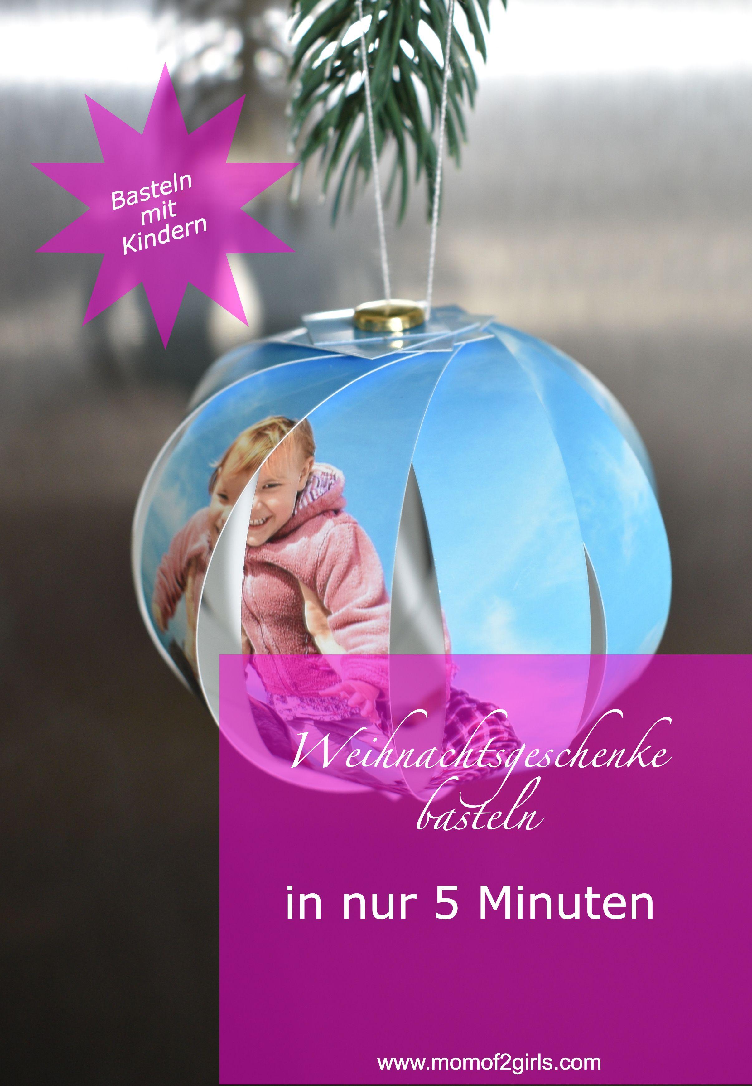 Geräumig Weihnachtsgeschenke Zum Selber Basteln Foto Von Diy, Mit Kindern Basteln, Personalisierte Weihnachtskugel Machen,
