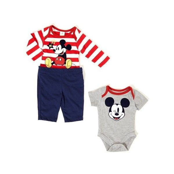 3pc Mickey Pants Set 0 9m 396058943 One Pieces Baby Boy Clothes