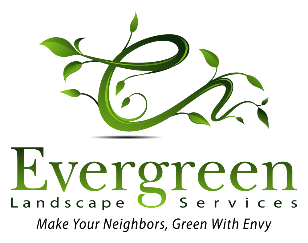 Evergreen landscaping logo design. To make your neighbors green with ...