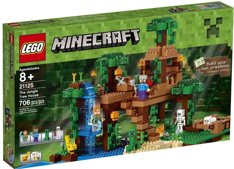 Lego Minecraft The Jungle Tree House Jungle Tree Lego Minecraft
