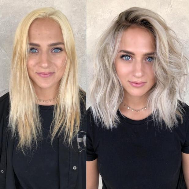 Schwarze haare blond TOP 25+