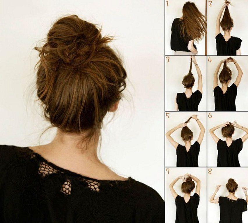 Como hacer peinados para estar en casa