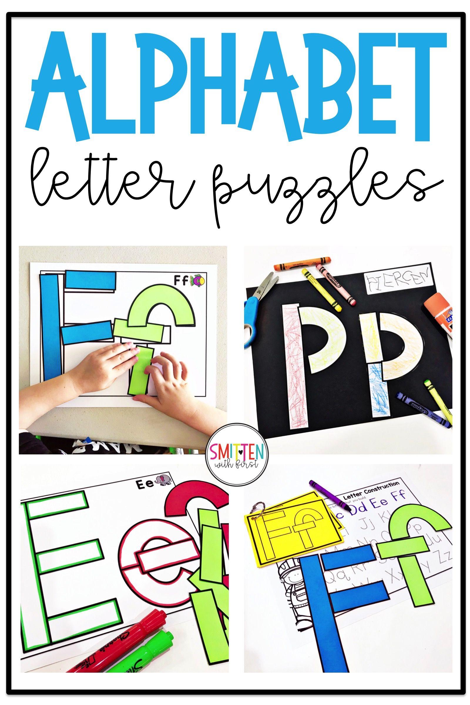 Preschool Kindergarten Letter Activities