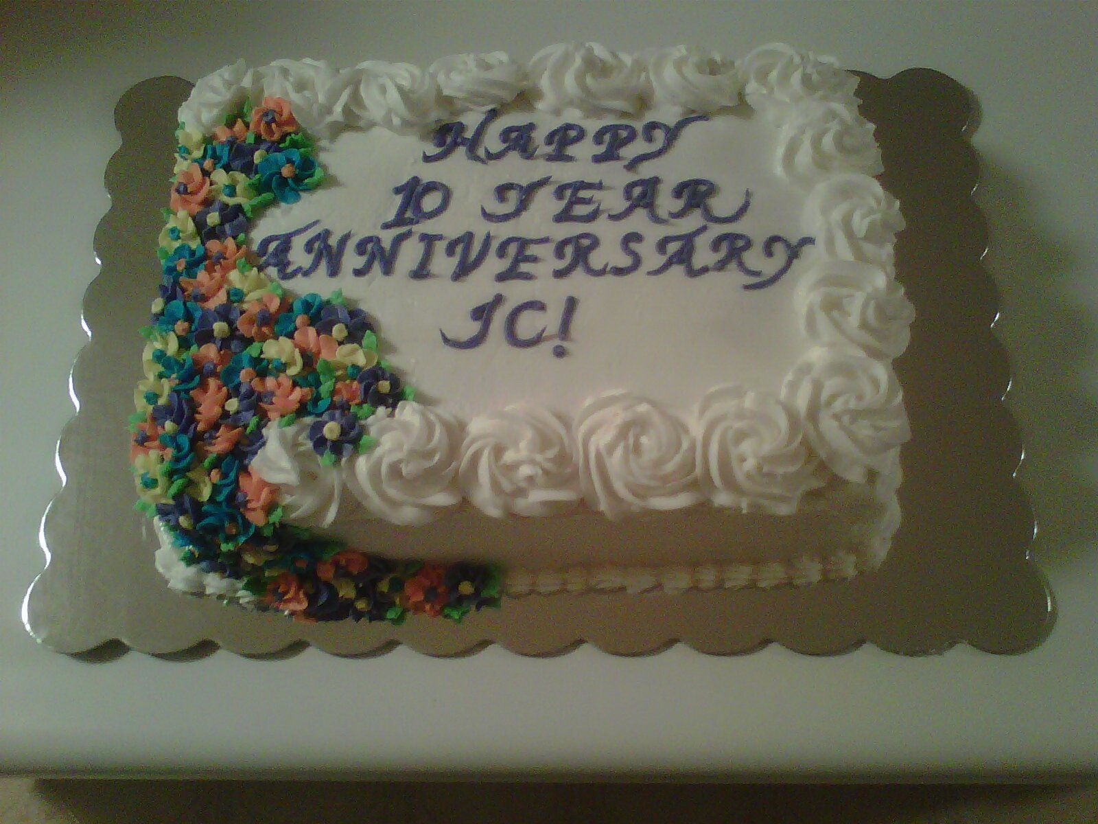 10 Year Work Anniversary Cake With Images Work Anniversary