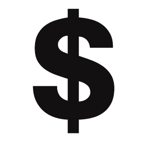 Dollar Sign Large Print Your Own Dollar Sign Tattoo Sign Fonts Money Sign