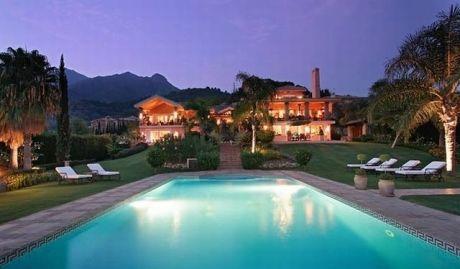 Sea view mansion for sale in marbella malaga spain