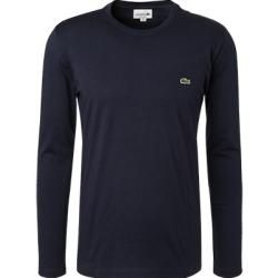 Photo of Lacoste long sleeve shirt men, cotton, blue Lacoste