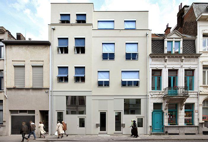 Ono architectuur housing prins leopoldstraat antwerp