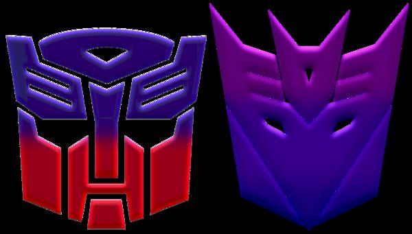 Autobot And Decepticon Logos By Kalel7 Decepticon Logo Autobots Logos