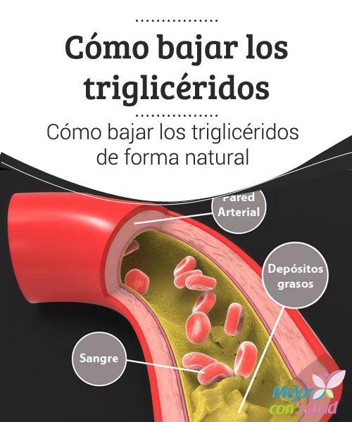 Tratamiento natural para los trigliceridos elevados