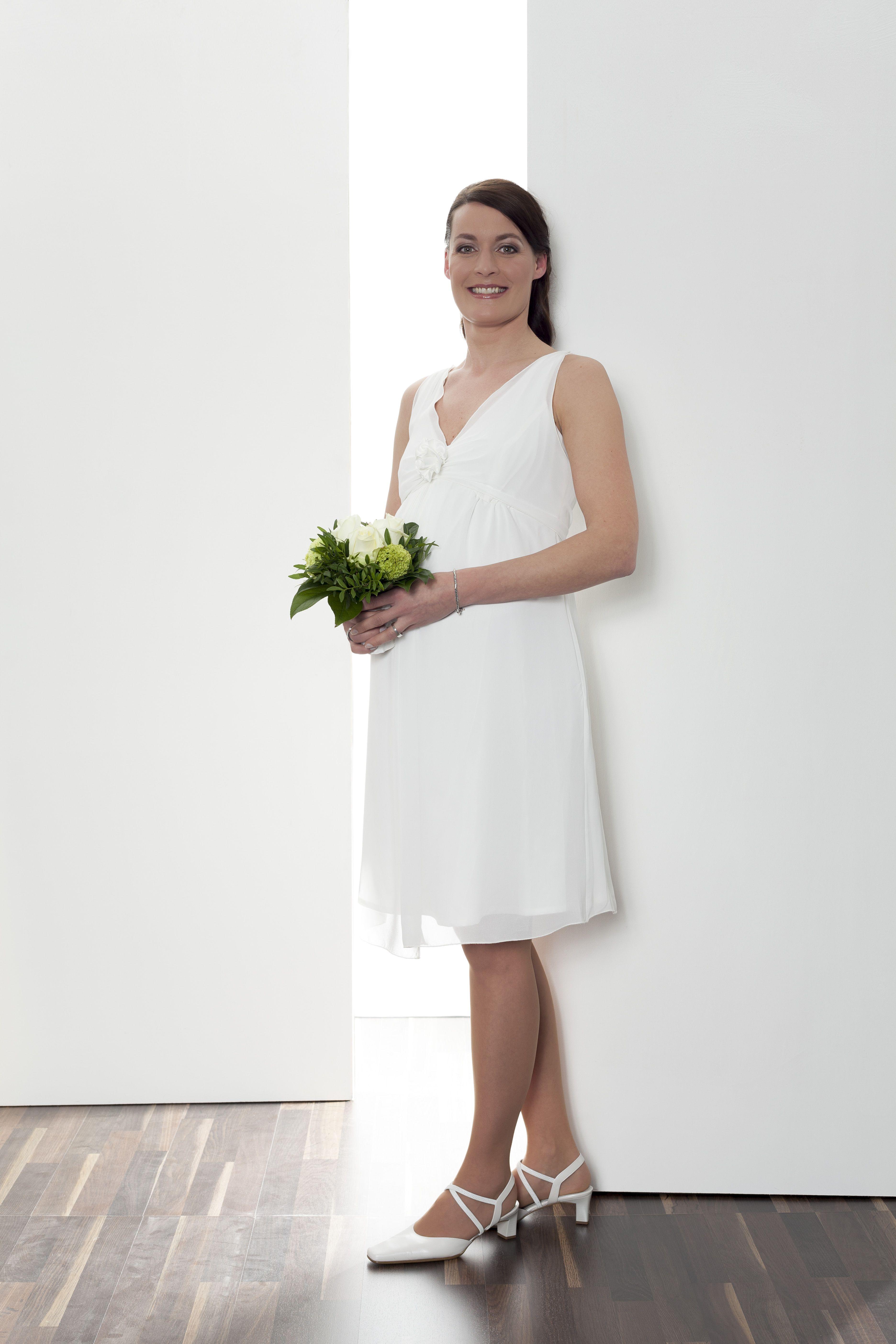 Wunderschönes Schwangerschaftskleid Deleila für die Braut in ...