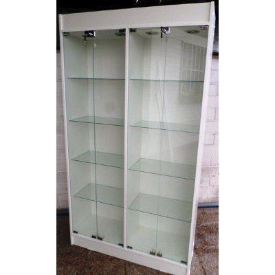 Vitrinas de melamina y vidrio buscar con google - Vitrinas de cristal para colecciones ...