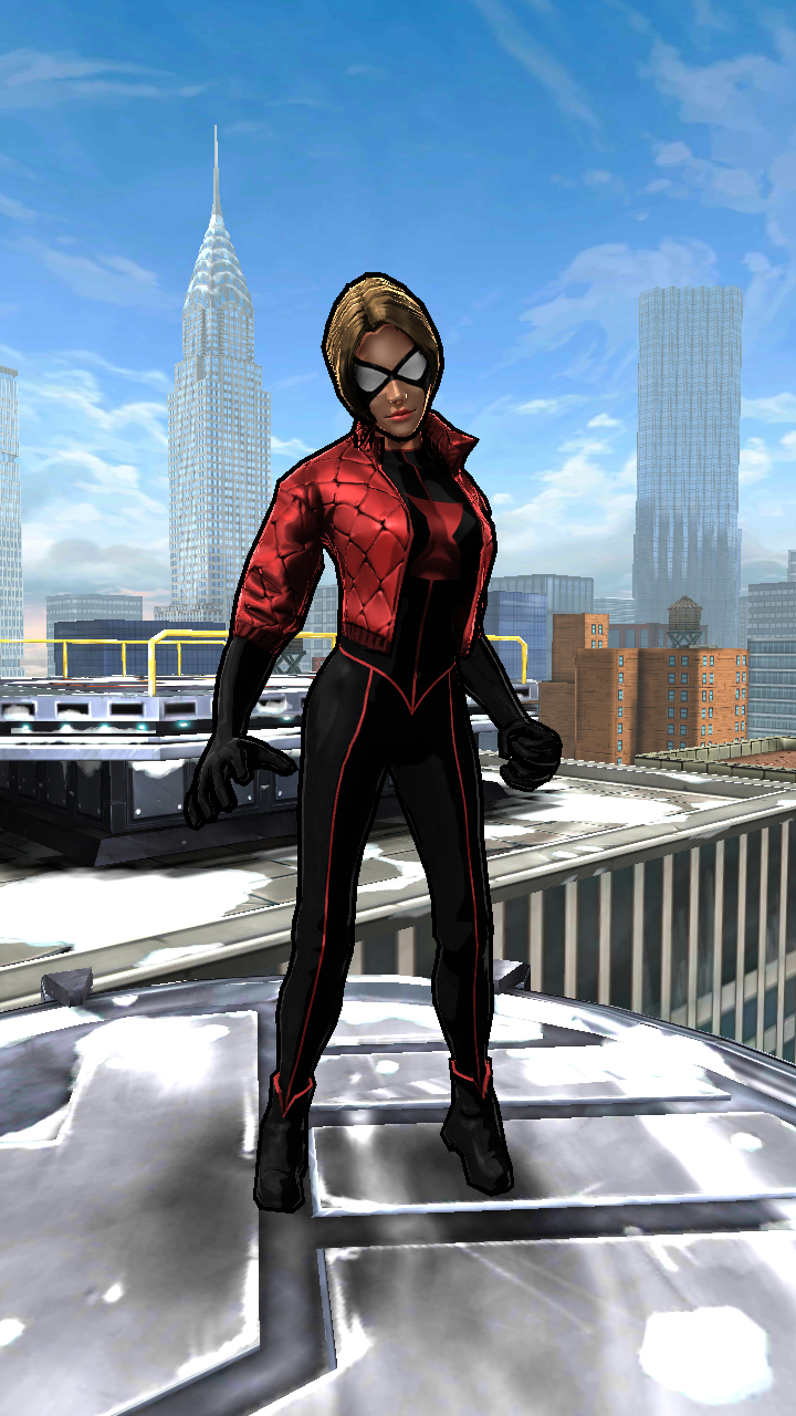 Ultimate Spider Man Black Widow Spider-Woman Black Wid...
