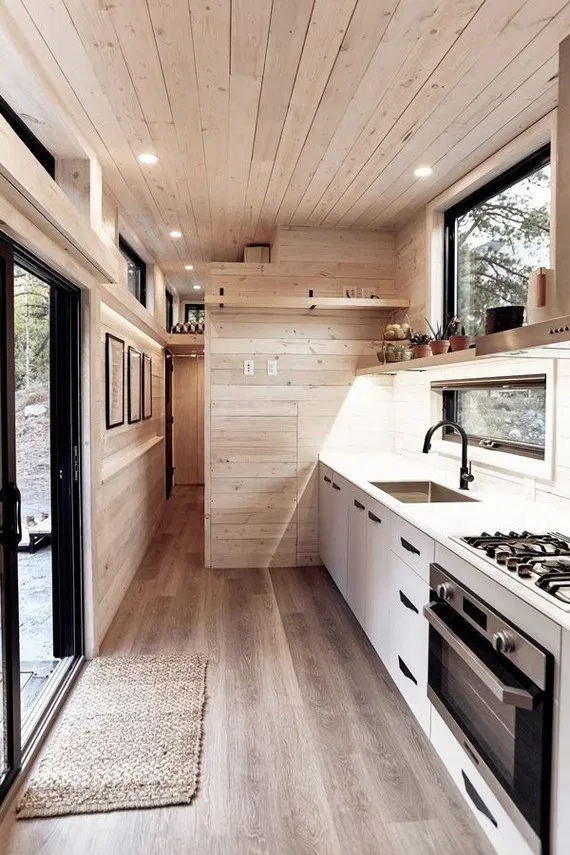 145 Genius Ideas For Your Tiny House Project 1 Terinfo Co Tiny House On Wheels Genius House Tiny House Kitchen Tiny House Interior Tiny House Interior Design