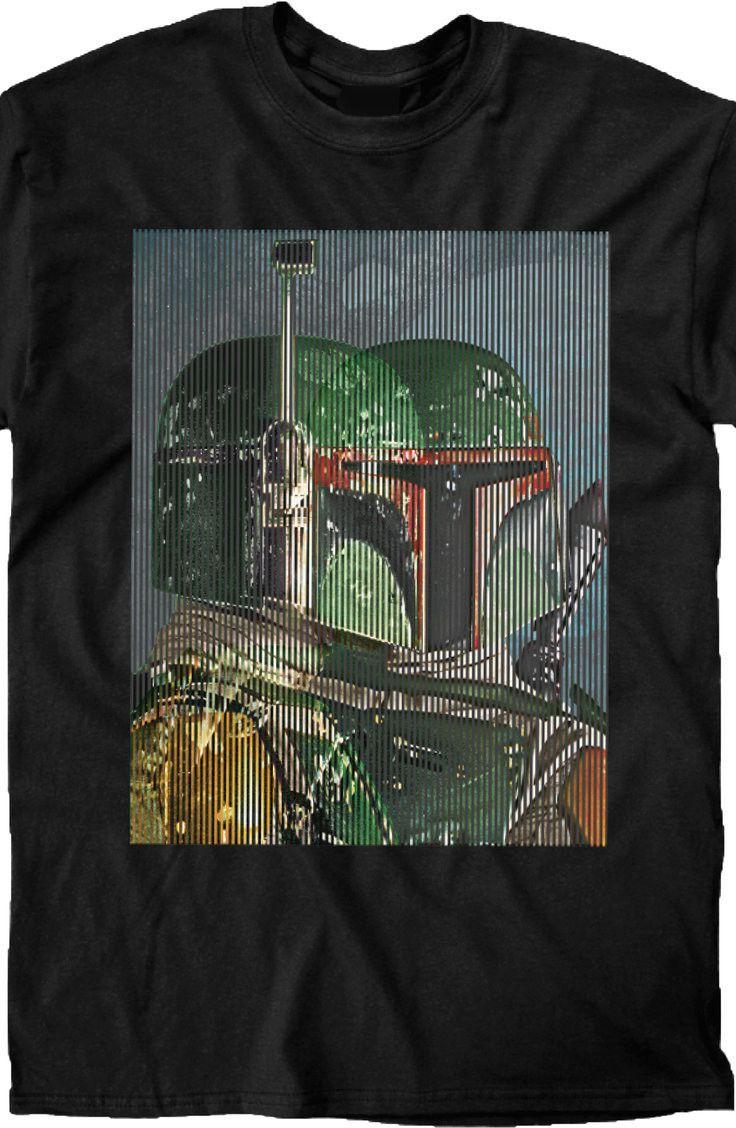 20e571da969 Spliced Boba Fett T-Shirt  80s Movies  Star Wars