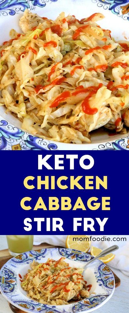 Photo of Chicken Cabbage Stir Fry – Keto Recipe