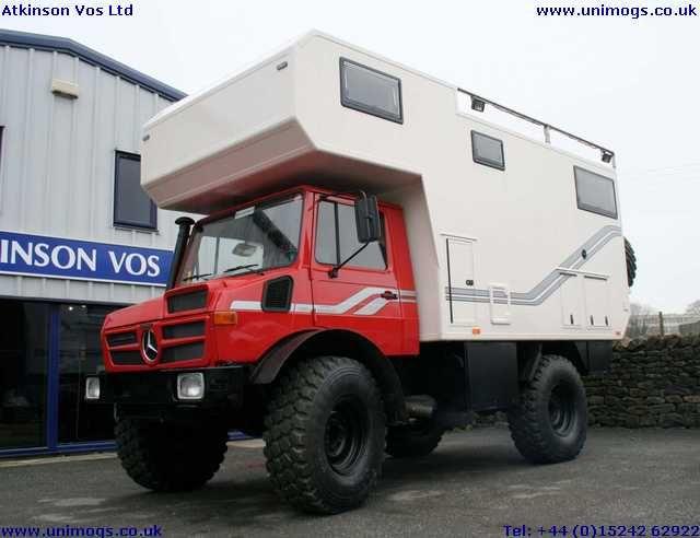 U1300l Camper Expedition Vehicle Unimog Unimog For Sale