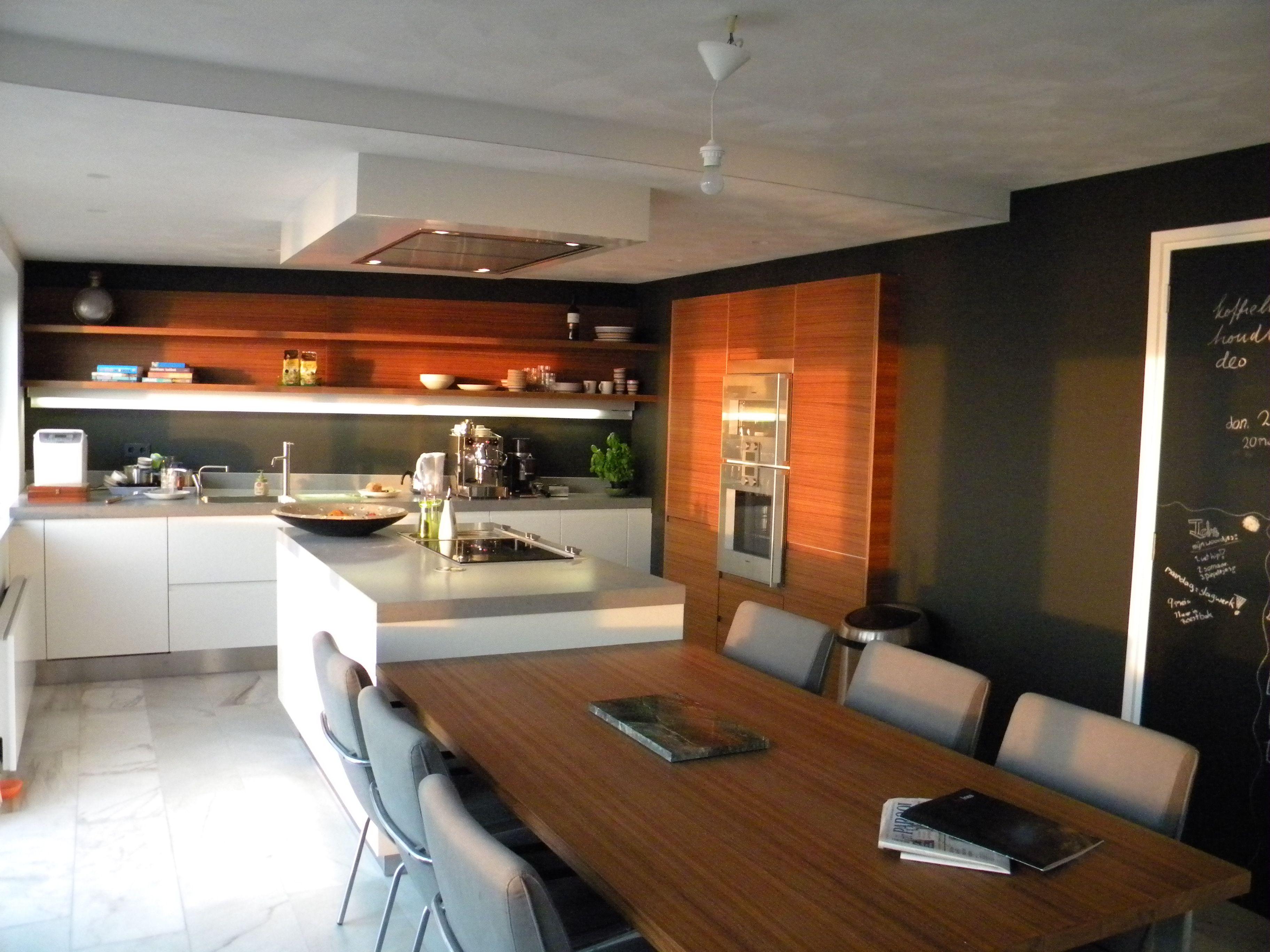 Kookeiland tafel keuken pinterest future house and kitchens - Tafel design keuken ...
