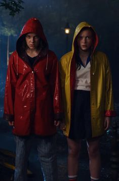 Max and Eleven - Stranger Things