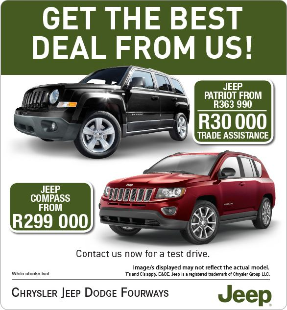 Save R50 000 On A New Jeep Compass Now From R299 000 Jeep