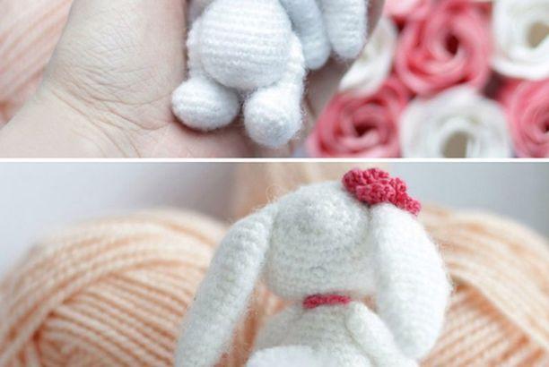 Little Crochet Bunny Free Pattern Beautiful Skills Crochet