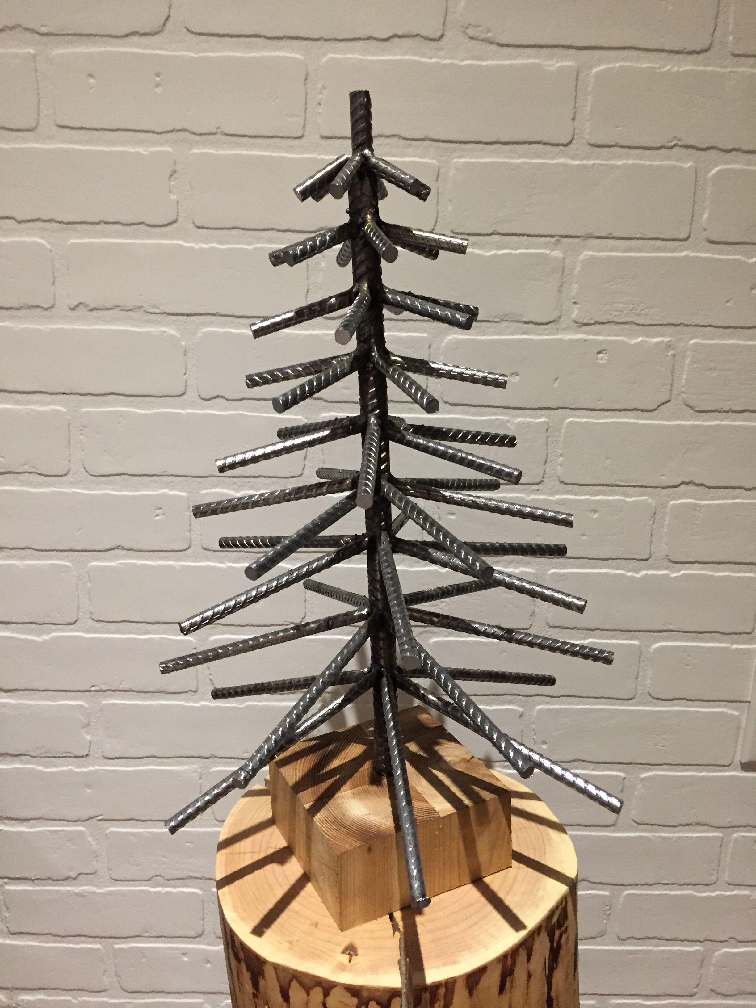 Rebar Christmas Tree By Yanick Bluteau Welding Art Metal Tree Wall Art Metal Art