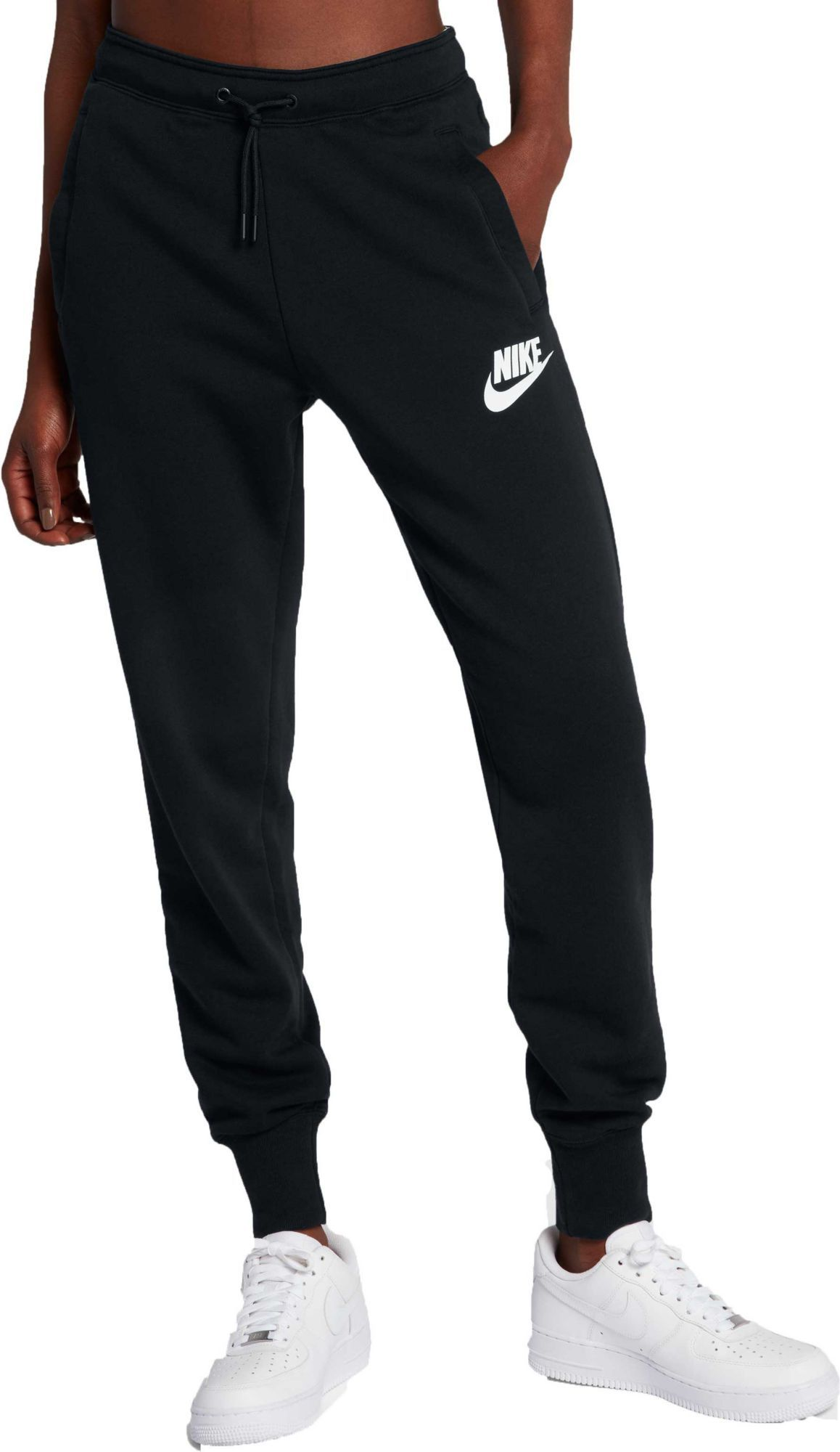 Nike Women S Sportswear Rally Joggers Size Medium Black Sportswear Women Joggers Womens Cute Sweatpants