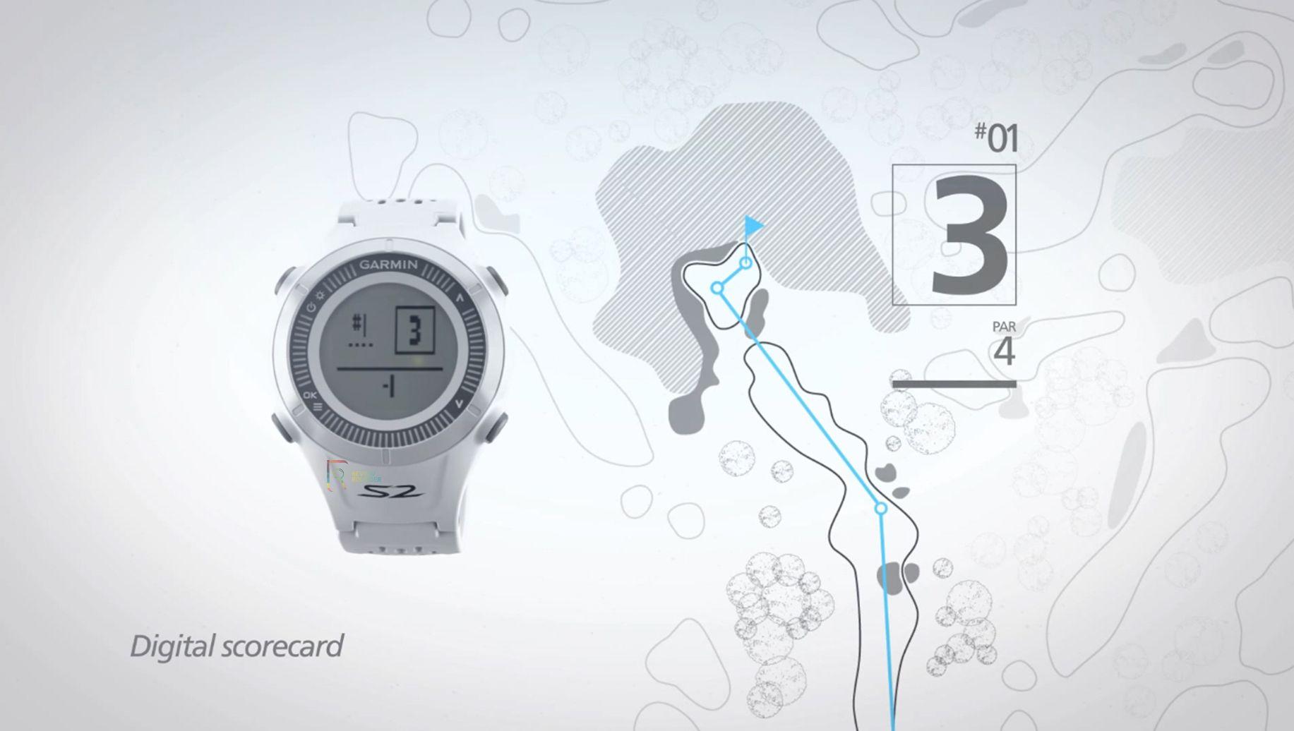 Garmin Approach S2 Golf GPS Watch review Golf gps watch