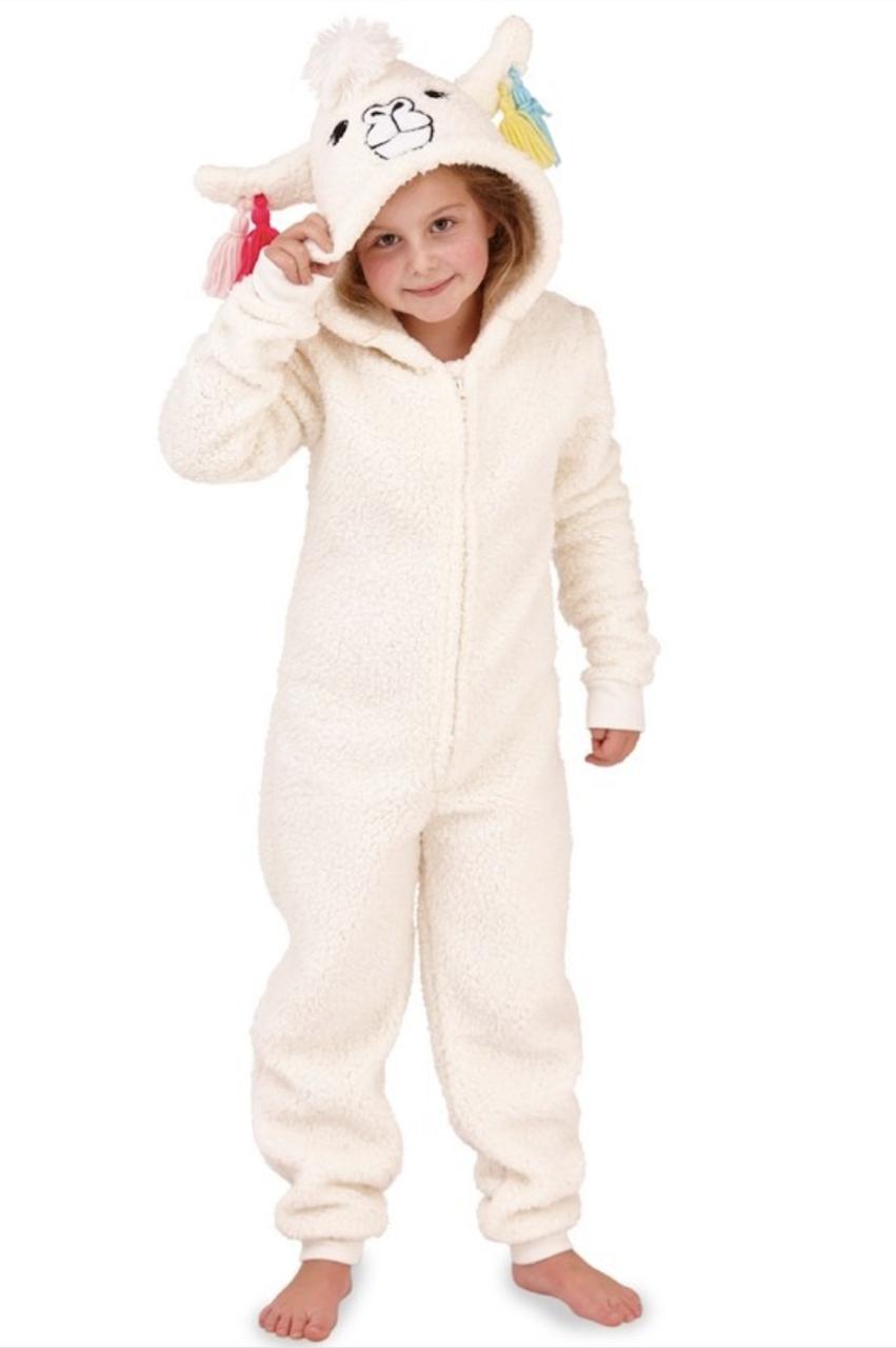 b07549b4df3 Deluxe Children's Llama Onesie - Want That Trend | Birthdays ...
