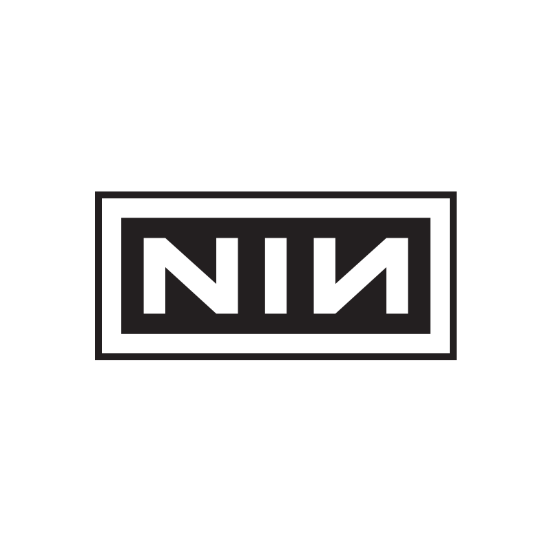 NIN Logo Embroidered Patch 2016, 3.5\