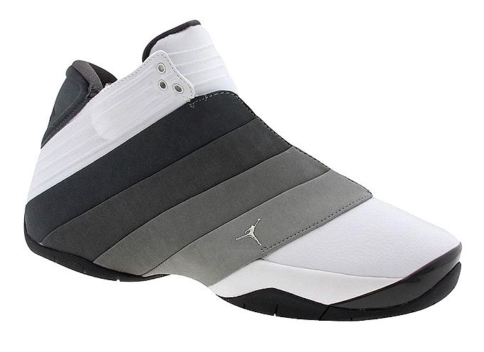ddc329d68d673e Men s Nike Jordan Mach III White Metallic Silver Light Graphite Obsidian  Basketball Shoes Size 12