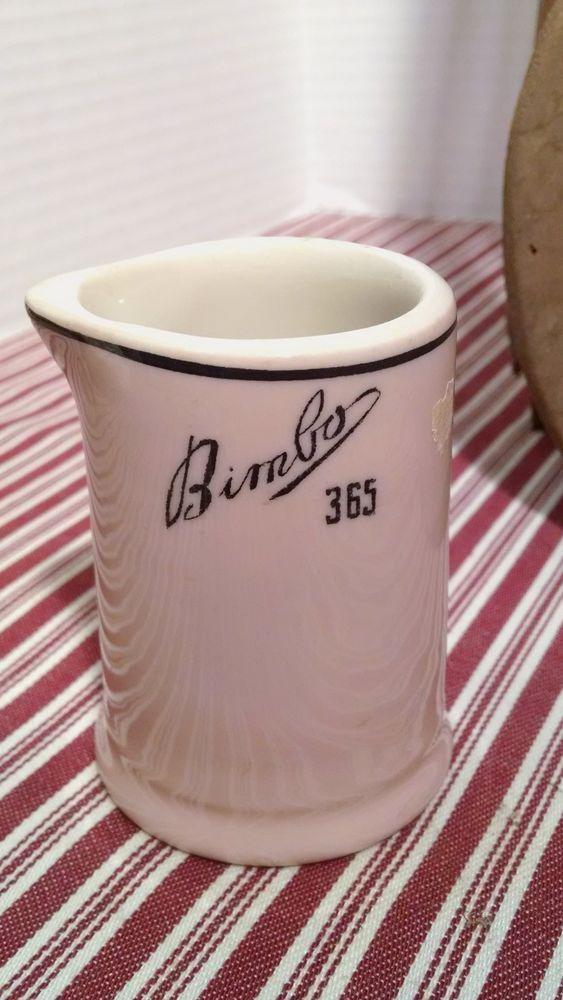 China \u0026 Dinnerware   eBay & Vintage Bimbo 365 pink creamer restaurant ware Sterling China ...