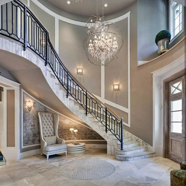 Top 70 Best Painted Stairs Ideas: Top 70 Best Great Room Ideas
